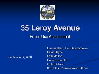 35 Leroy Avenue