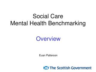 Social Care  Mental Health Benchmarking