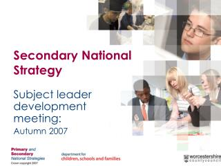 Secondary National Strategy
