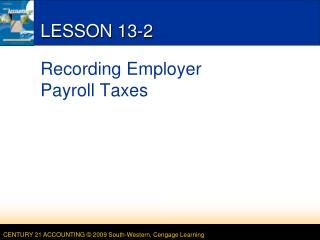 LESSON 13-2