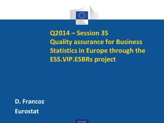 D. Francoz Eurostat