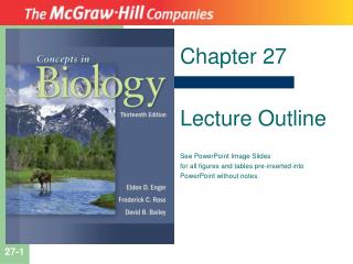 Chapter 27 Lecture Outline See PowerPoint Image Slides