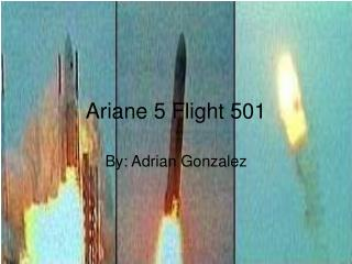 Ariane 5 Flight 501