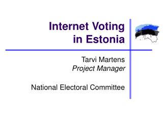 Internet Voting in Estonia