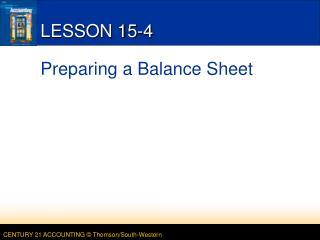 LESSON 15-4