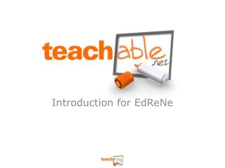 Introduction for EdReNe