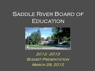 Saddle River Board of Education