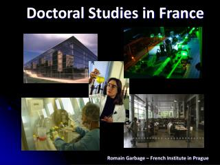 Doctoral Studies in France