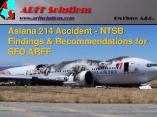 ARFF  Solutions arffsolutions DM  Pierce   A.F.O .