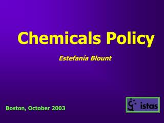 Chemicals Policy