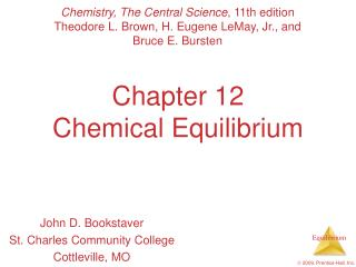 Chapter 12 Chemical Equilibrium