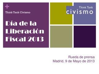 Rueda de prensa Madrid , 9 de Mayo de 2013