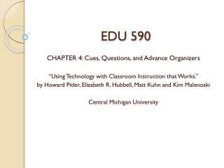 EDU 590