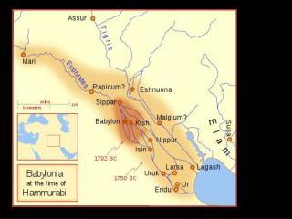 Babylon – Present day Al Hillah, Iraq                     62 miles south of Baghdad