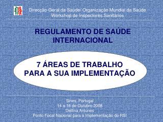 REGULAMENTO DE SA DE INTERNACIONAL