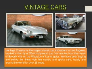 American Classic Cars For Sale