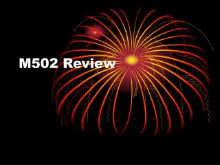 M502 Review