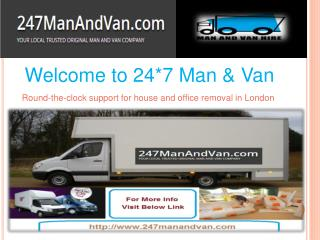 Man and Van Hire London