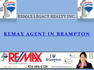 Remax Agent in Brampton