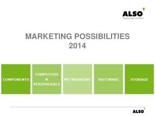 MARKETING POSSIBILITIES  2014