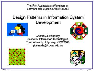Design Patterns in Information System Development