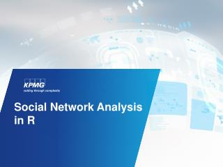 Social Network Analysis in R