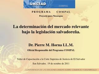 P R O G R A M A          C O M P A L Proyecto para Nicaragua