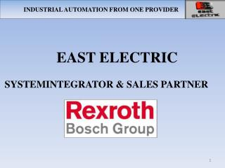 INDUSTRIAL AUTOMATION FROM ONE PROVIDER