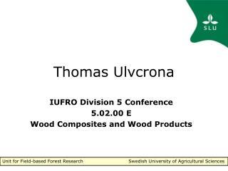 Thomas Ulvcrona