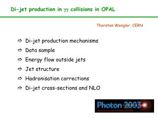 Di-jet production in  gg  collisions in OPAL