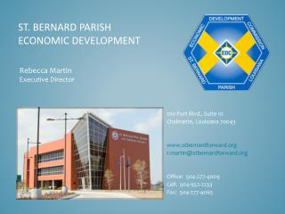 St. Bernard Parish Economic Development