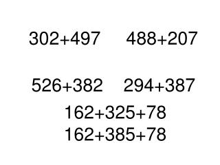 302+497     488+207