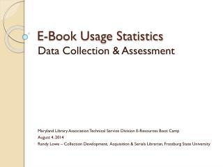 E-Book Usage Statistics