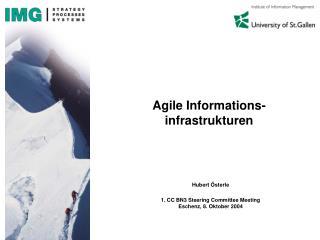 Agile Informations-infrastrukturen