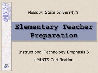 Elementary Teacher Preparation
