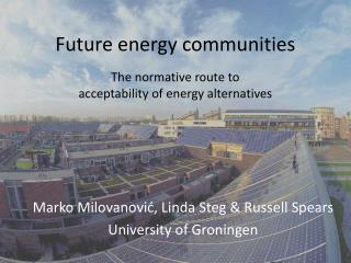 Future  energy  communities