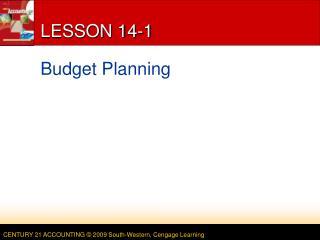LESSON 14-1