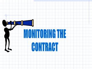 MONITORING THE CONTRACT
