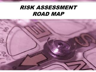 RISK ASSESSMENT    ROAD MAP