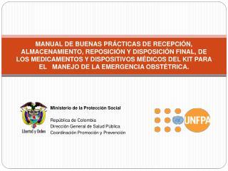 MANUAL DE BUENAS PR CTICAS DE RECEPCI N, ALMACENAMIENTO, REPOSICI N Y DISPOSICI N FINAL, DE LOS MEDICAMENTOS Y DISPOSI