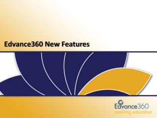 Edvance360 LMS-SN Release 5.2