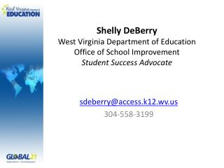 sdeberry@access.k12.wv 304-558-3199