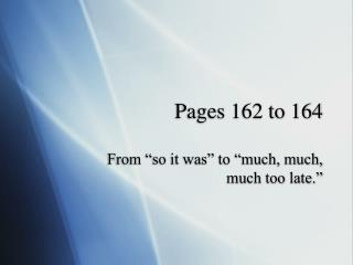 Pages 162 to 164