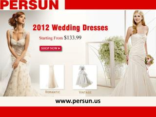 Persun Dresses: Wedding Dresses Collections