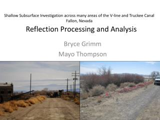 Reflection Processing and Analysis