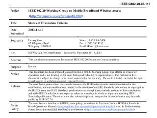 IEEE C802.20-03/111