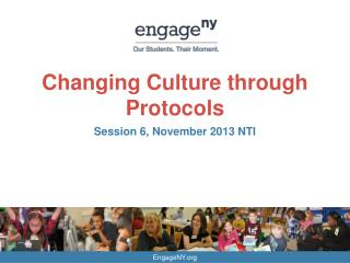 Changing Culture through Protocols