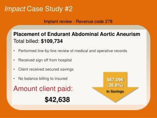 Impact  Case Study #2