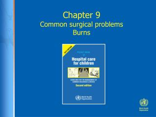 Chapter 9 Common surgical problems Burns