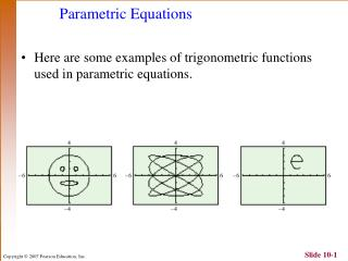 Parametric Equations